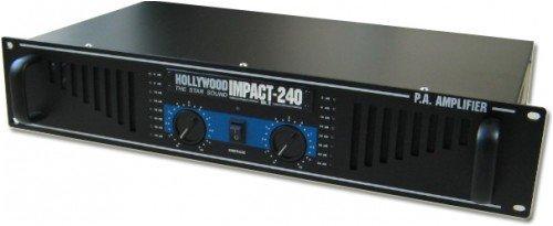 Amplificateur noir PA puissance 4800 watts musique Impact-480 Black Edition