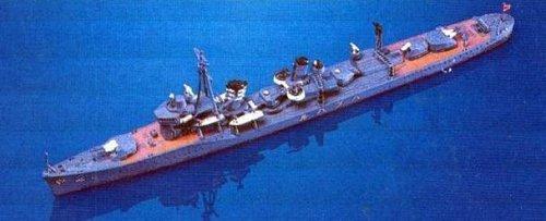 Skywave 1/700 WWII IJN Destroyer Hatsuharu Class Hatsuharu Model Kit