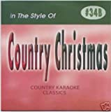 CHRISTMAS Country Karaoke Classics CDG Music CD