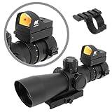 AR15 M4 CX4 SU16 Tactical Combo Set w/ NcStar MKIII 3-9x42 Rifle Scope + NcStar Red Dot Reflex Sight ~ NcStar