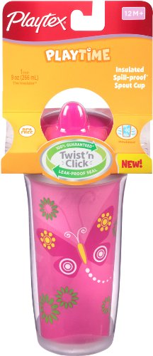 Playtex Insulator/Playtime Cup, 9 Ounce, Colors May Vary front-983155