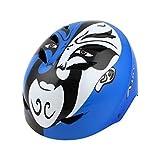 EPS Vélo BMX unisexe Scooter Skate casque de course à roulettes Bleu