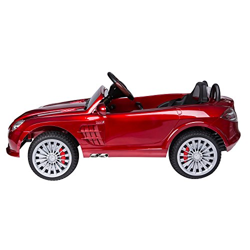 mercedes benz 722s kids 12v electric ride on toy car w parent remote control red by aosom