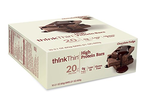 thinkthin-high-protein-bars-chocolate-fudge-21-ounce-pack-of-10
