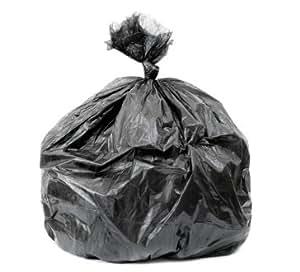 46 Gallon Garbage Bags Heavy Duty 1.4 Mil Black 100/case
