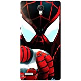 AMAN Spider Man 3D Back Cover For Xiaomi Redmi Note 4G