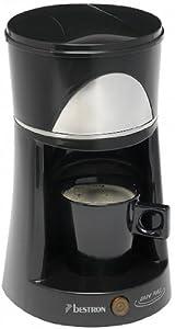 Bestron DCM100Z Kaffeeautomat 1T Easy Pad schwarz