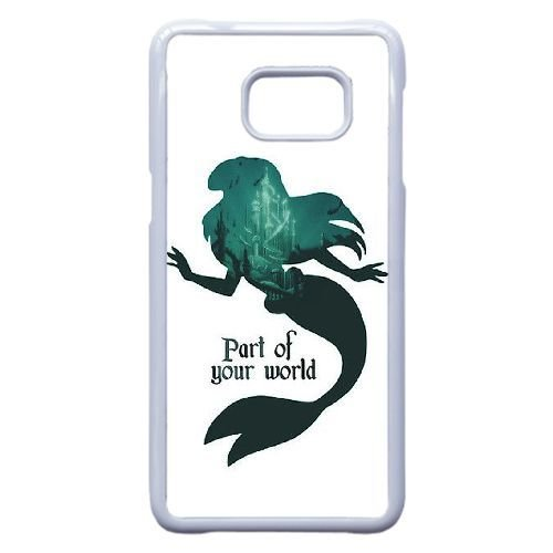 Samsung Galaxy S6 Edge Plus Cover , Ariel - Part of your world Cell phone case White for Samsung Galaxy S6 Edge Plus
