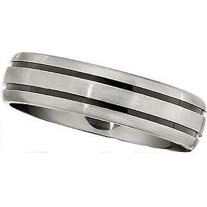 Titanium 6.0mm Band: Size 6.5