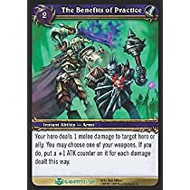 World of Warcraft Blood of Gladiators Single Card The Benefits of Practice #7...