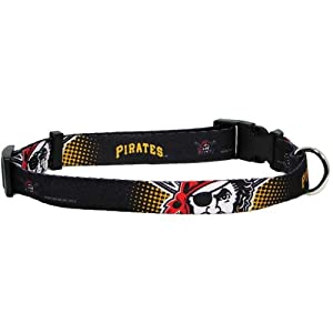 Hunter MFG Pittsburgh Pirates Dog Collar, Large
