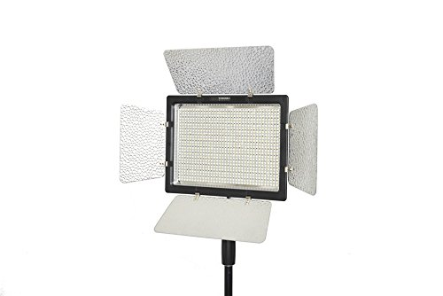 Yongnuo Yn900 Yn-900 Pro Led Video Light/ Led Studio Lamp With 3200K-5500K Adjustable Color Temperatur E For The Slr Cameras Camcorders, Like Canon Nikon Pentax Olympas Samsung Panasonic Jvc Etc.