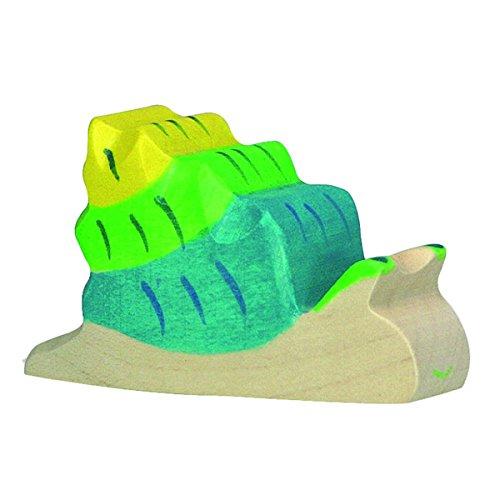 Holztiger Snail Wooden Figure - 1