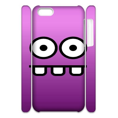 3D IPhone 5C Cases Funny 16, Funny Cases Vety, {White}