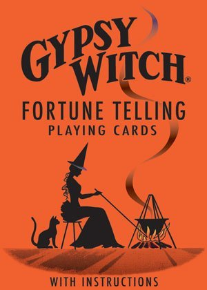 Gypsy Witch Fortune Telling Playing Cards - 1