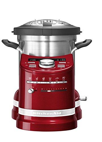 KitchenAid-Artisan-5KCF0103ECA-Prparateur-culinaire-cuiseur-tout-en-un-cook-processor-Rouge-pomme-damour