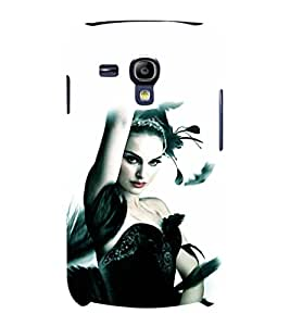 printtech Black Swan Ballet Dance Back Case Cover for Samsung Galaxy S3 Mini::Samsung Galaxy S3 Mini i8190