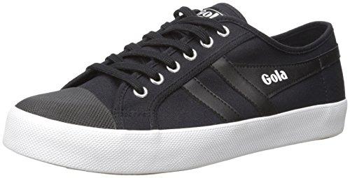 Gola Men's Coaster Fashion Sneaker, Black/Black/White, 9 UK/10 M US
