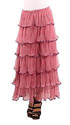 Showoff Pink Chiffon Skirts