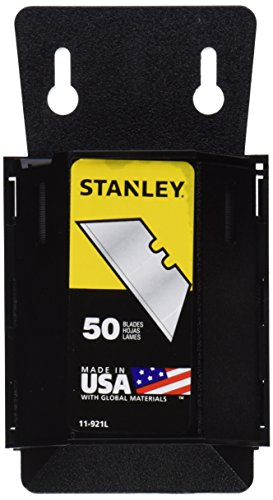 Stanley 11-921L 50-Pack 1992 Heavy Duty Utility Blades with Dispenser