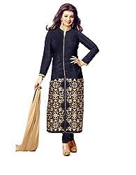 Embroidery Work Cotton Designer Celebrity Salwar Kameez