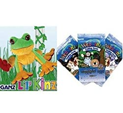 Webkinz Lil Tree Frog with Trading Cards