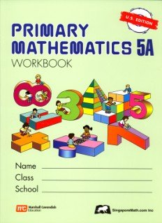 Primary Mathematics 5a: Us Edition  PMUSW5A (Primary...
