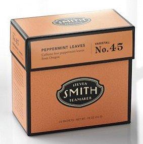 Steven Smith Teamaker: Pepperment Leaves Tea 15 Sachets In Tip Top Carton 21153