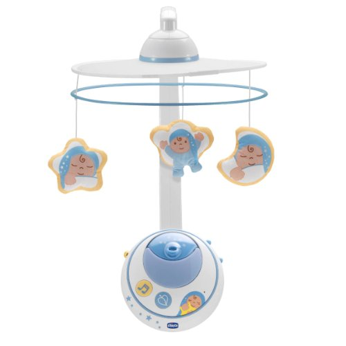 Chicco Jouet D'éveil Mobile Double Projection First Dreams Bleu Collection 2014