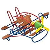 Swing Town Airplane Teeter Totter - 7 Seat