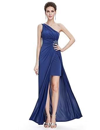 HE09542BL06, Blue, 4US, Ever Pretty Long Dresses For Women Evening 09542