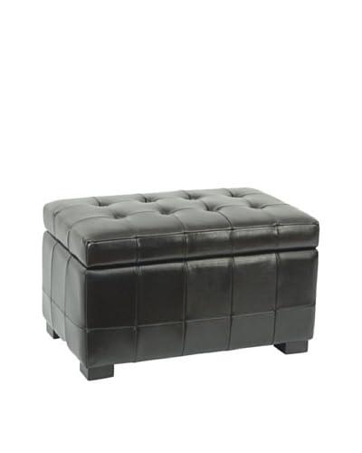 Safavieh Small Manhattan Storage Bench, Black