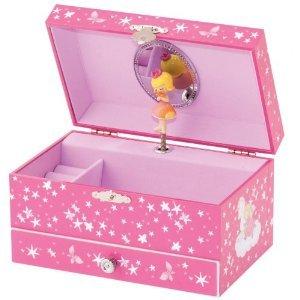 Mele & Co Pink Princess Musical Jewellery Box