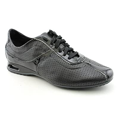 Amazon.com: Cole Haan Women's Air Bria Leather Sneakers in Black