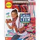 Alex fashion weave loom with fluffy yarn ages 7+