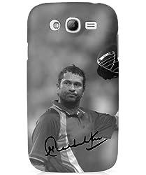 iAccy STS002 Sachin Tendulkar Signature Case for Samsung Galaxy S3 (Black)