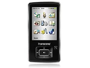 Transcend TS4GMP870 2.4-Inch 4 GB Video MP3 Player (Black) (Discontinued by Manufacturer)