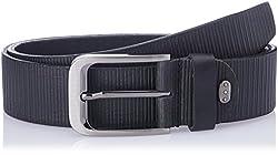 Dandy AW 14 Black Leather Men's Belt (MBLB-318-S)