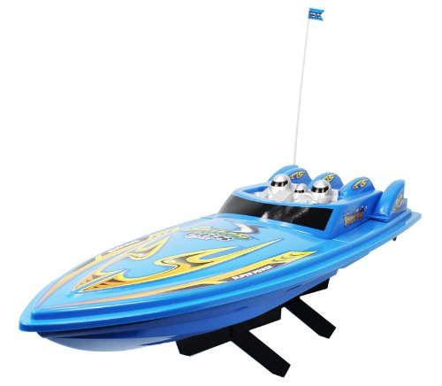 41C6NrVNS9L Cheap  Large High Speed 668 King Cruiser Electric RTR RC Boat Big Remote Control Quality RC Boat Powerful Dual Propellers Perfect for