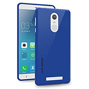 Cool Mango XiReN3_JTPU_Blu FlexiGel Back Cover for Redmi Note 3 - [Slim Fit] Flexible, Glossy and Luxurious Back case - [Precise Fit & Essential Device Protection](Cobalt Blue)- [Precise Fit & Essential Device Protection] (Cobalt Blue)
