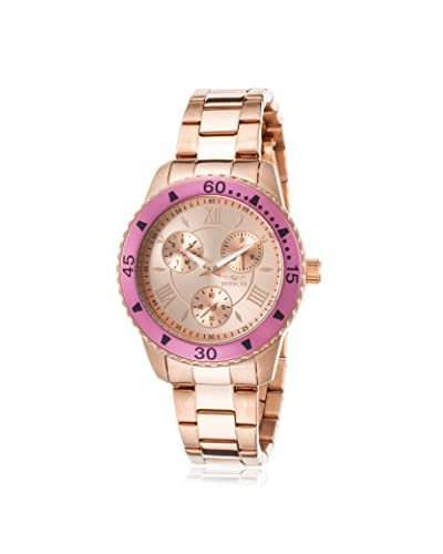Invicta Women's INVICTA-21774 Angel Lady Rose Tone Stainless Steel Watch As You See