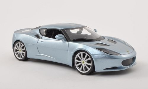lotus-evora-s-ips-met-silber-blau-modellauto-fertigmodell-bburago-124