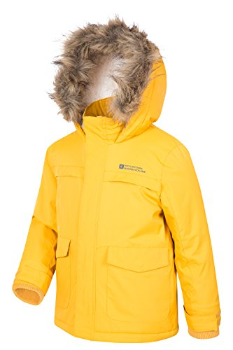 Mountain Warehouse Samuel Kinder-Parka Dunkelgelb 104 -