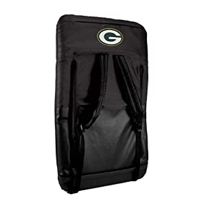 Nfl Green Bay Packers Portable Ventura Reclining Seat from Picnic Time