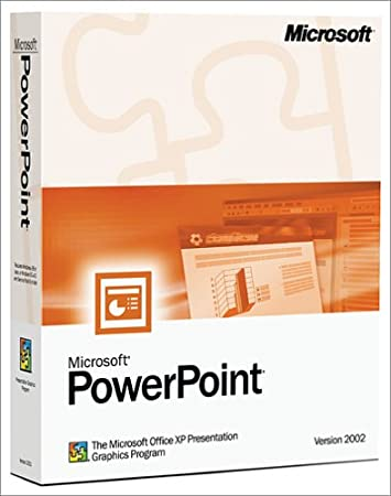 Microsoft PowerPoint 2002 Upgrade [Old Version]