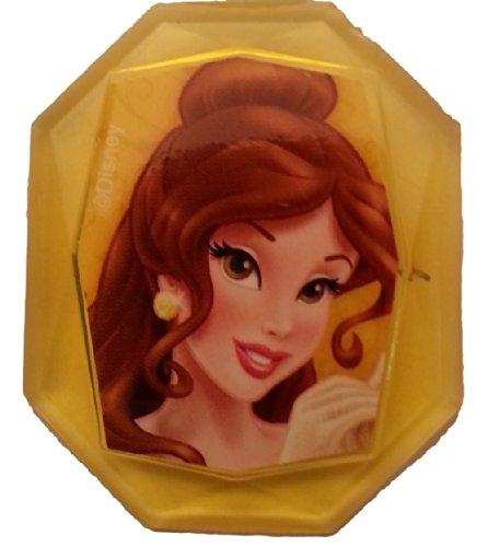 Disney Princess Gemstone Cupcake Topper Ring- Belle- Set of 12 - 1