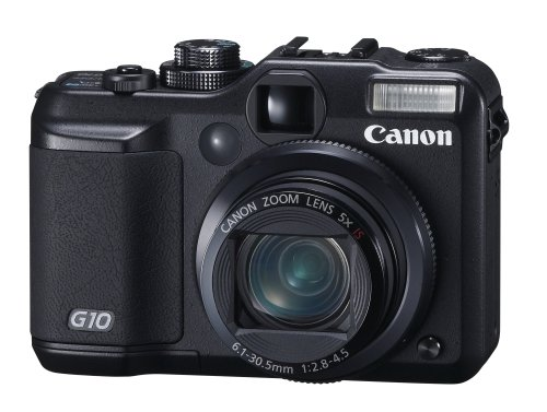 Canon PowerShot G10 is the Best Compact Digital Camera Overall with Manual Controls