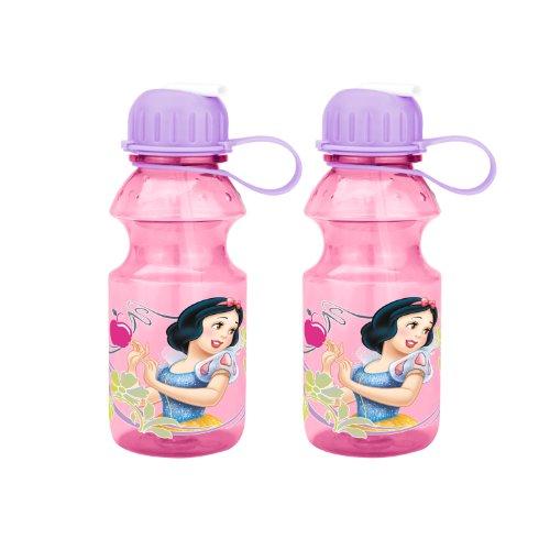 Zak Designs Princess Tritan Bottle, 14-Ounce, 2-Pack front-800714