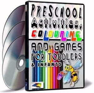 Pre-School Activities (3 Massive CD-Roms)