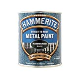ICI 5092955 750ml Hammerite Metal Paint Hammered - Black